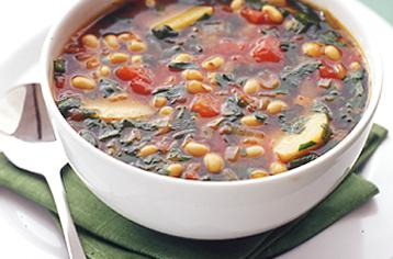 How to cook Bean and vegetable soup