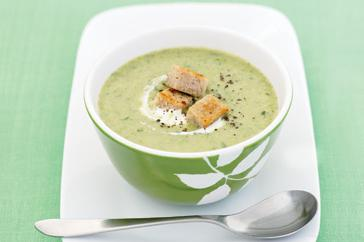 How to cook Broccoli & leek soup