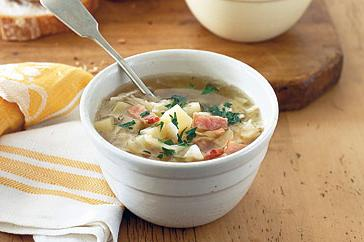 How to cook Cabbage, bacon and potato soup