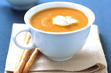How to cook Carrot and chickpea soup