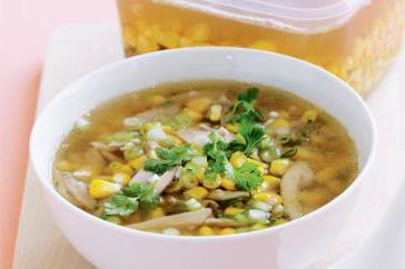 How to cook Chicken and corn soup