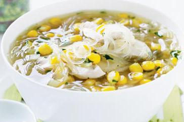 How to cook Chicken and corn vermicelli noodle soup