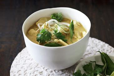 How to cook Chicken laksa soup
