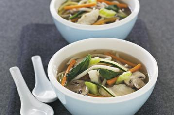 How to cook Fish and noodle soup