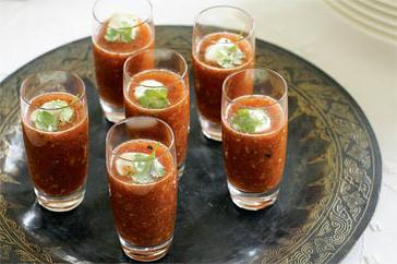 How to cook Indian-style gazpacho