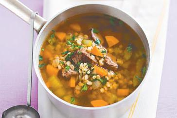 How to cook Lamb, vegetable and barley soup