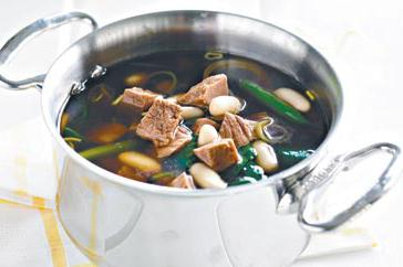 How to cook Lamb, white bean and spinach soup