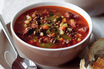 How to cook Lentil and chorizo soup