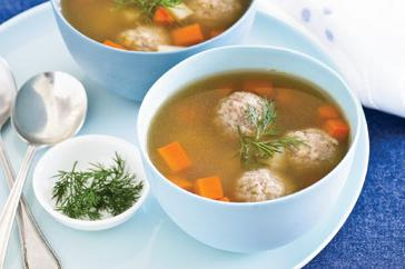 How to cook Matzo balls in chicken broth