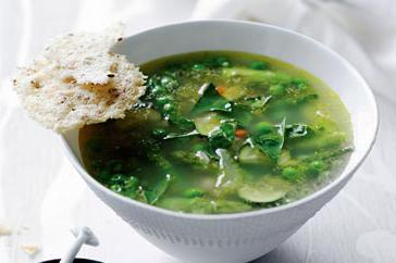 How to cook Minestrone verde with frico