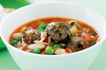 How to cook Mini meatball minestrone