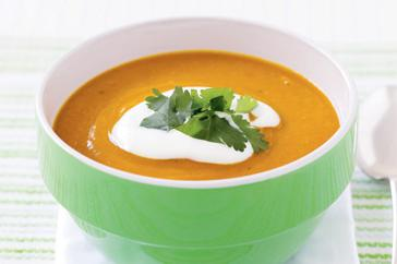 How to cook Red lentil & pumpkin soup