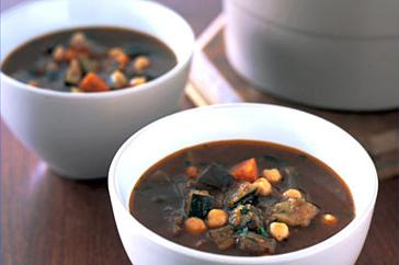 How to cook Roast vegetable and chickpea soup