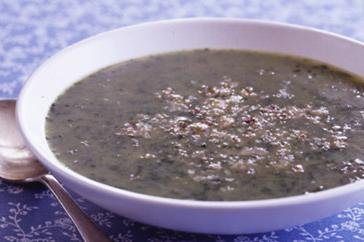 How to cook Spinach and leek soup