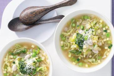 How to cook Spring minestrone with pistou