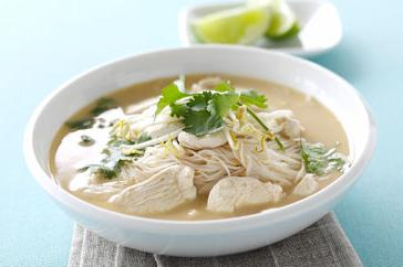 How to cook Thai chicken and coconut soup