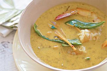 How to cook Thai prawn broth