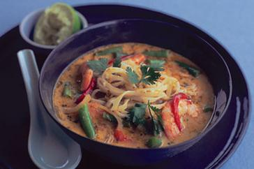 How to cook Thai-style red curry soup