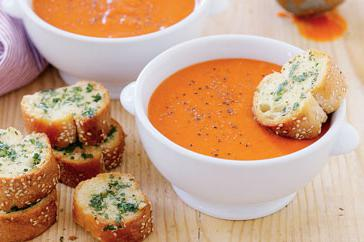 How to cook Tomato and capsicum soup