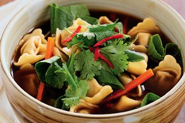 How to cook Tortellini in Asian-style broth