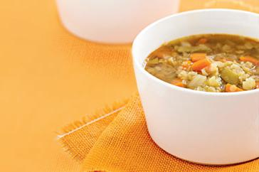 How to cook Vegetable & lentil soup