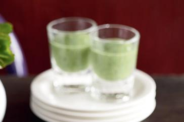 How to cook Watercress soup shots