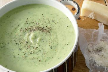 How to cook Zucchini & parmesan soup